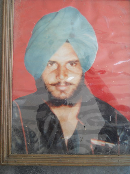 Photo of Sukhdev Singh, victim of extrajudicial execution between June 1, 1990 and July 31,  1990, in Tarn Taran,  by Punjab Police; Central Reserve Police ForceUnknown type of security forces