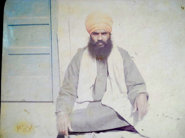 Photo of Nirvair Singh, victim of extrajudicial execution on September 09, 1992, in Tarn Taran, by Criminal Investigation Agency