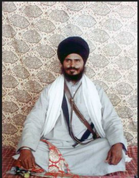 Photo of Gurbachan Singh Manochahal, victim of extrajudicial execution on February 28, 1993, in Tarn Taran, by Punjab Police; Central Reserve Police Force