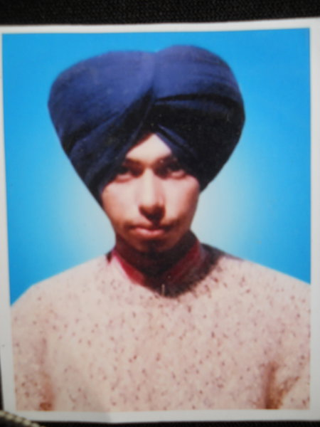 Photo of Kawaljit Singh, victim of extrajudicial execution on July 07, 1993Unknown type of security forces