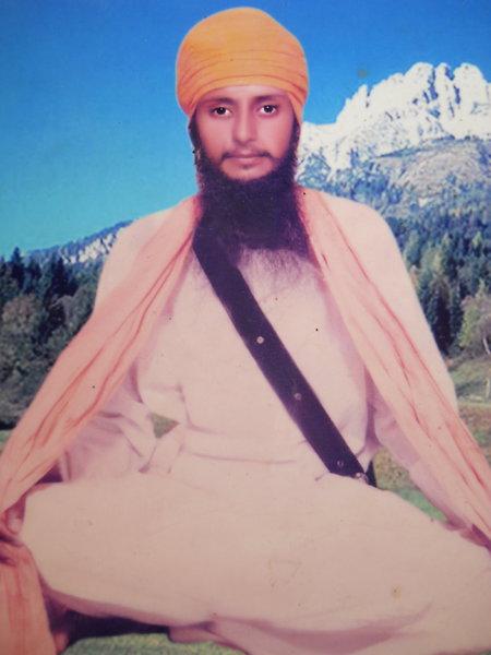 Photo of Sukhwinder Singh, victim of extrajudicial execution between January 1, 1990 and January 31,  1990, in Sarhali Kalan, by Punjab Police