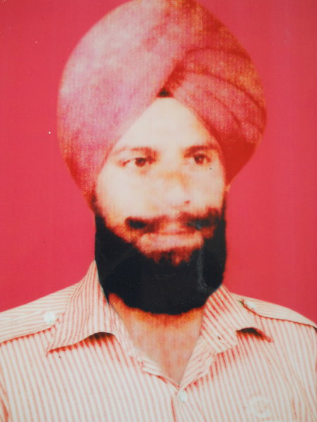Photo of Jagjit Singh, victim of extrajudicial execution on September 24, 1992, in Khalra, by Punjab Police