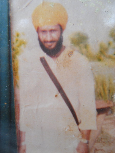 Photo of Ajmer Singh, victim of extrajudicial execution on August 11, 1987, in Gharinda, by Punjab Police
