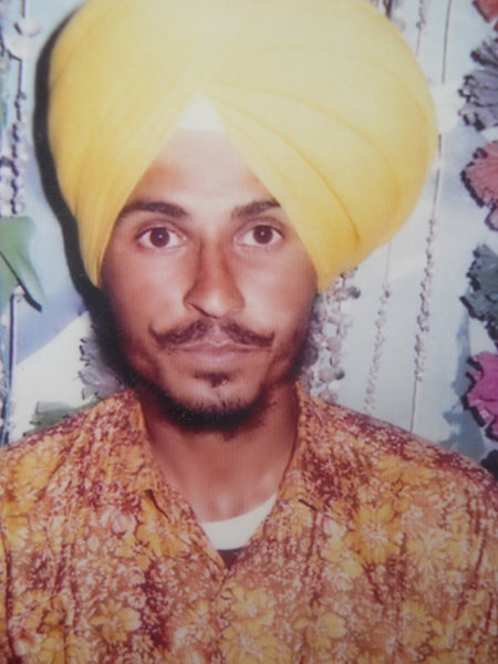 Photo of Karanbir Singh,  disappeared on October 02, 1992, in Shahbazpur,  by Punjab Police