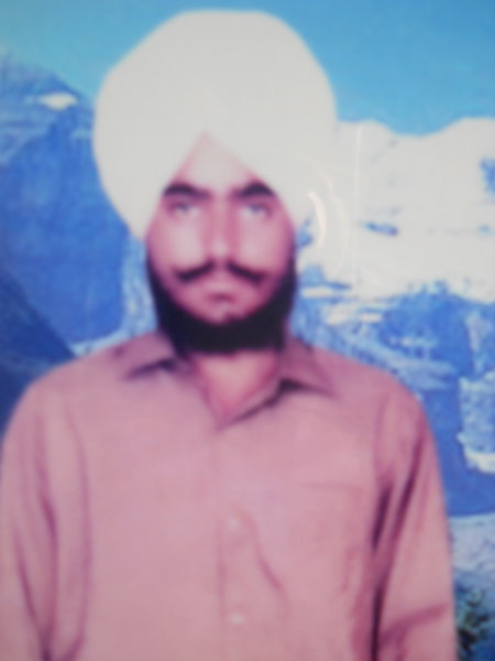 Photo of Bhupinder Singh, victim of extrajudicial execution on October 04, 1990Unknown type of security forces