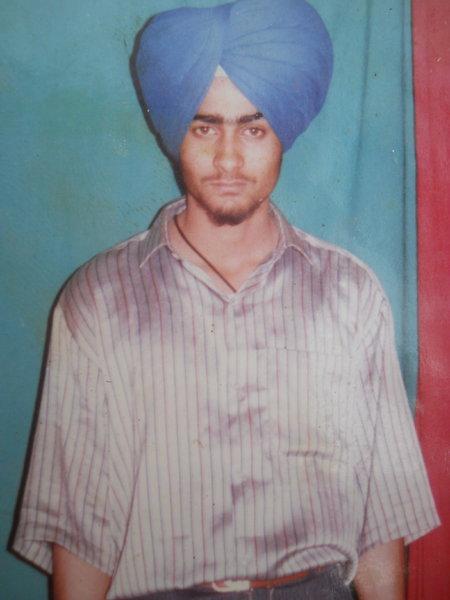 Photo of Baldev Singh, victim of extrajudicial execution between June 29, 1991 and June 30,  1991, in Tarn Taran, by Punjab Police