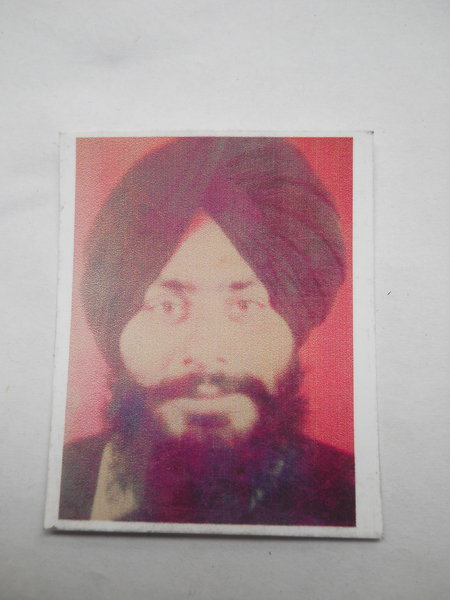 Photo of Balkar Singh, victim of extrajudicial execution on October 02, 1991, in Goindwal, by Punjab Police