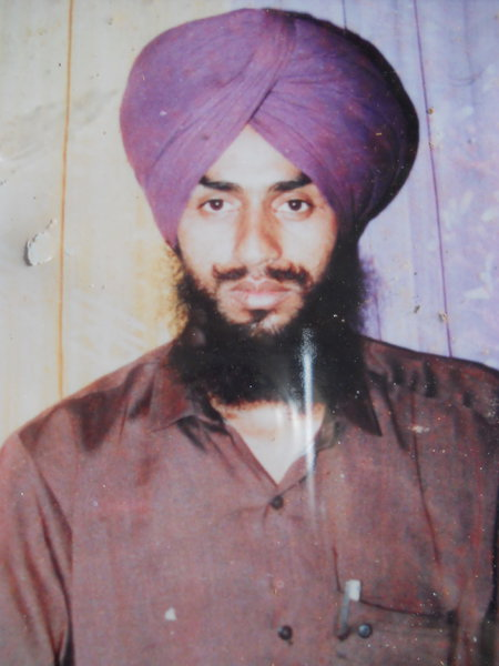Photo of Bhupinder Singh, victim of extrajudicial execution on July 13, 1991 by Unknown type of security forcesUnknown type of security forces
