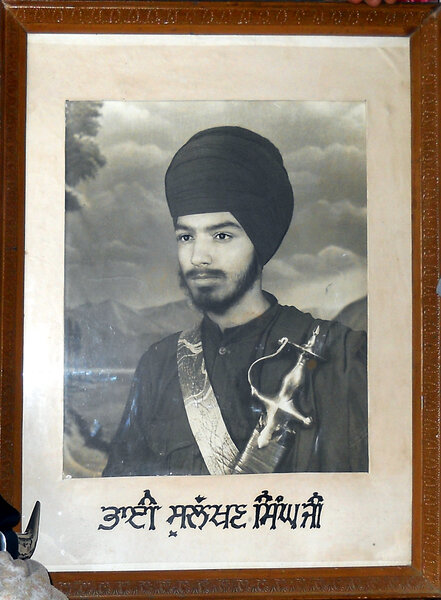 Photo of Sulakhan Singh, victim of extrajudicial execution between March 21, 1987 and September 8,  1987Punjab Police