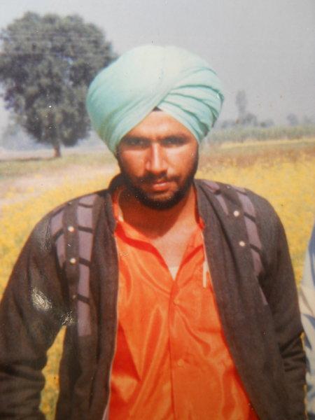 Photo of Harjit Singh, victim of extrajudicial execution on April 07, 1994, in Rupnagar, by Punjab Police