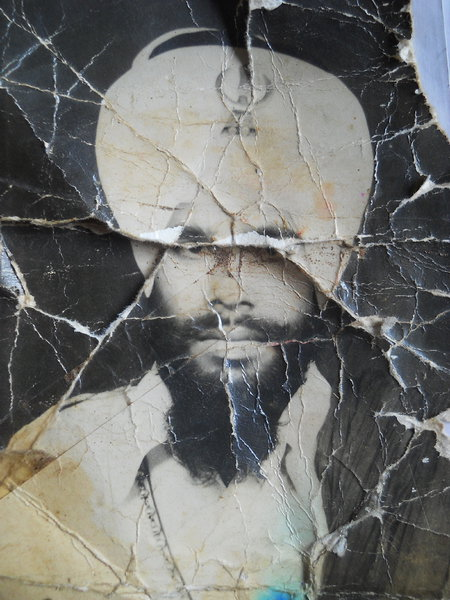 Photo of Narinder Singh, victim of extrajudicial execution between October 14, 1987 and November 29,  1987, in Khadur Sahib, by Punjab Police
