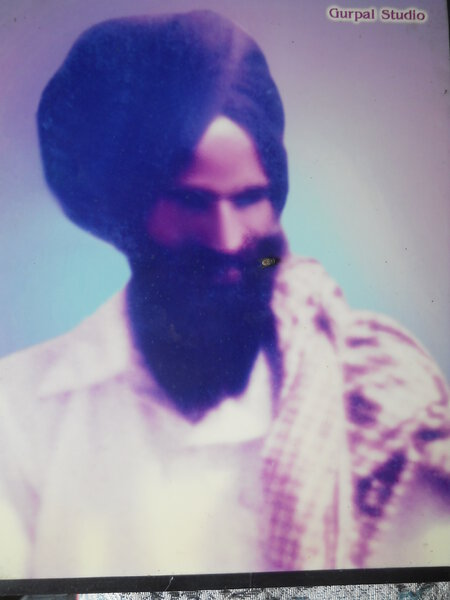 Photo of Karaj Singh, victim of extrajudicial execution between November 1, 1988 and November 30,  1989Punjab Police