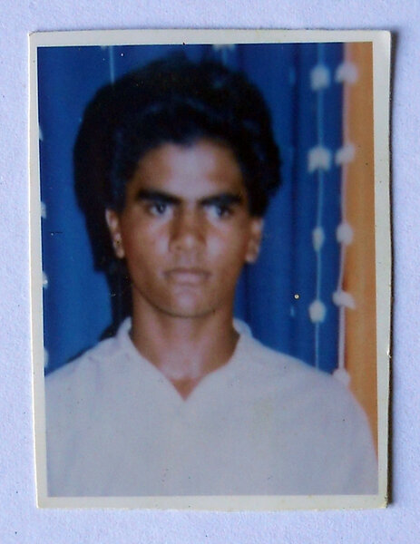 Photo of Tarlochan Singh, victim of extrajudicial execution on July 21, 1993, in Jandiala, by Punjab Police