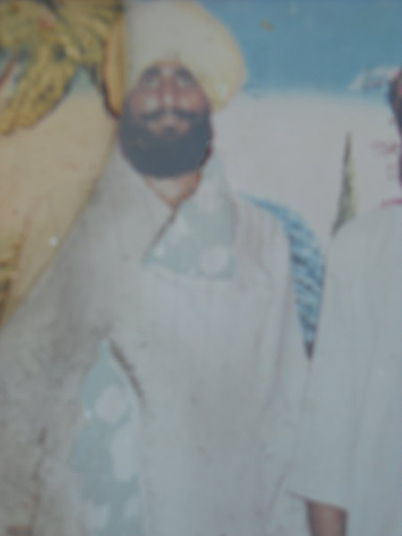 Photo of Lakhbir Singh, victim of extrajudicial execution on November 28, 1991, in Amritsar, by Punjab Police