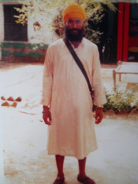 Photo of Sarwan Singh, victim of extrajudicial execution on September 24, 1991, in Beas,  by Punjab Police; Central Reserve Police Force, in Beas, by Punjab Police