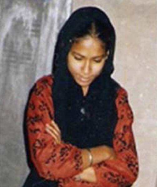 Photo of Madanjit Kaur, victim of extrajudicial execution on June 01, 1991, in Beas, by Punjab Police; Black cat