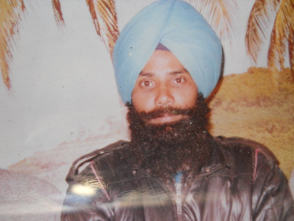 Photo of Mohan Singh, victim of extrajudicial execution on March 14, 1993, in Khalra, by Punjab Police