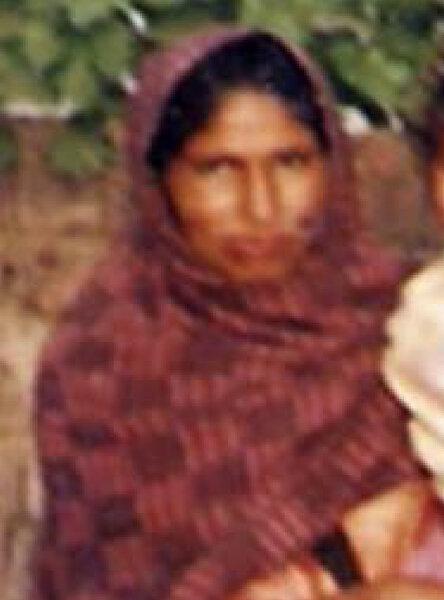 Photo of Harjinder Kaur, victim of extrajudicial execution on June 01, 1991, in Beas, by Punjab Police; Black cat