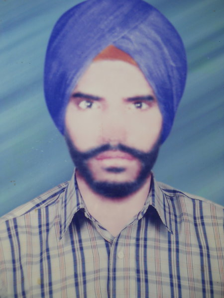 Photo of Nanak Singh, victim of extrajudicial execution on June 24, 1992, in Sathiala, Beas, by Punjab Police; Central Reserve Police Force