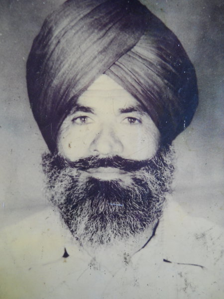 Photo of Jagir Singh, victim of extrajudicial execution between November 1, 1990 and November 5,  1990 by Unknown type of security forces, in Majitha, by Punjab Police