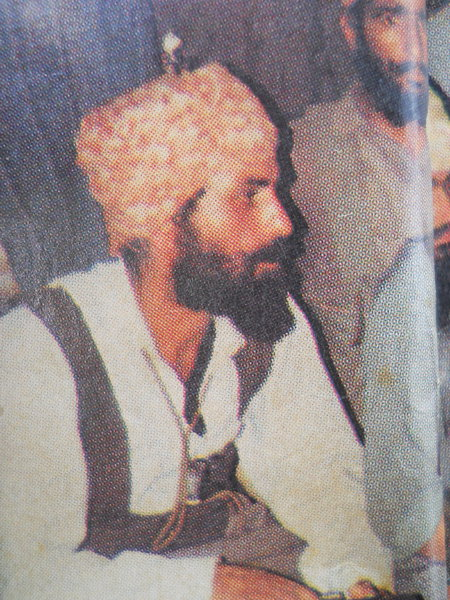 Photo of Ranjit Singh, victim of extrajudicial execution on December 22, 1990, in Amritsar,  by Punjab Police; Black cat, in Kathu Nangal, by Punjab Police
