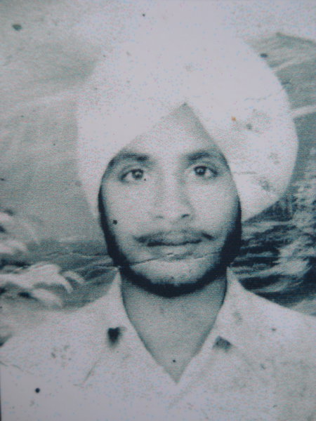 Photo of Avtar Singh, victim of extrajudicial execution between January 9, 1991 and January 21,  1991Punjab Police