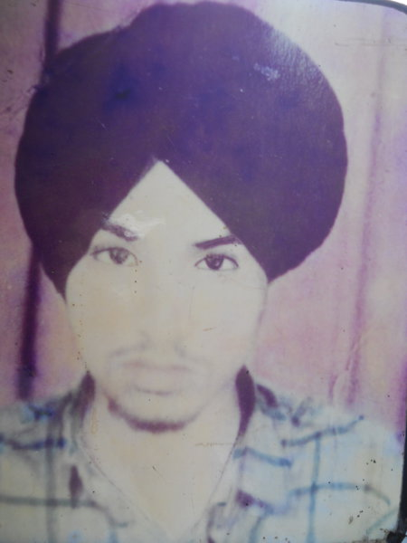 Photo of Nishan Singh, victim of extrajudicial execution on March 19, 1997, in Amritsar,  by Punjab Police; Central Reserve Police Force, in Amritsar, by Punjab Police; Central Reserve Police Force