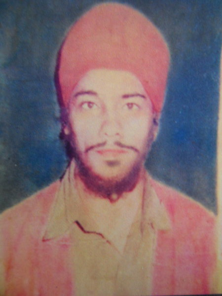 Photo of Charnjit Singh, victim of extrajudicial execution, date unknown