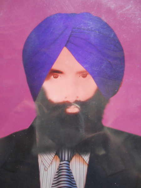 Photo of Gurcharn Singh, victim of extrajudicial execution on March 2, 1988, in Lopoke,  by Punjab Police; Central Reserve Police Force, in Lopoke, Ajnala, by Punjab Police; Central Reserve Police Force