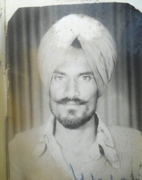Photo of Charn Singh, victim of extrajudicial execution on June 6, 1984Central Reserve Police Force