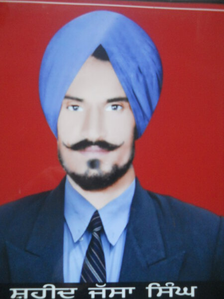 Photo of Jassa Singh, victim of extrajudicial execution on June 06, 1984Central Reserve Police Force