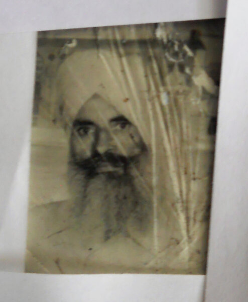 Photo of Gurmukh Singh, victim of extrajudicial execution on June 6, 1984Central Reserve Police Force