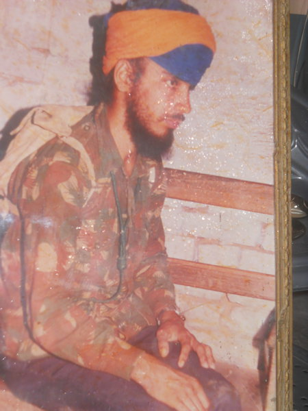Photo of Surjit Singh, victim of extrajudicial execution on June 14, 1989, in Ramdas, by Punjab Police