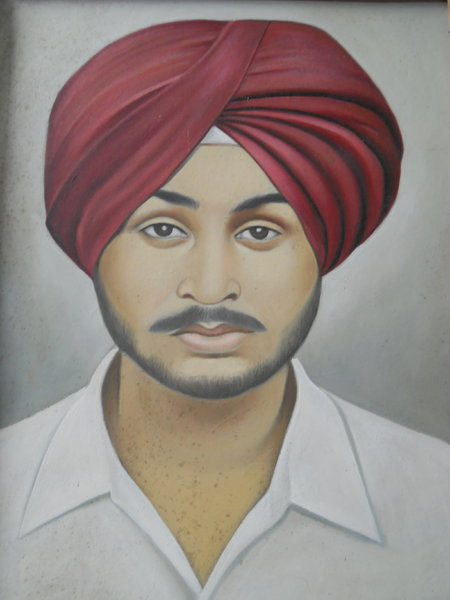 Photo of Sharanpal Singh, victim of extrajudicial execution on June 09, 1991, in Lopoke, by Punjab Police