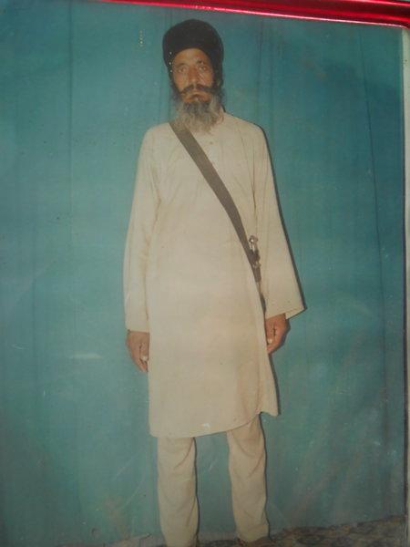 Photo of Santokh Singh, victim of extrajudicial execution on June 21, 1992, in Gharinda, by Punjab Police