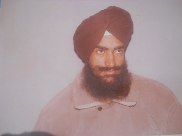 Photo of Lakhbir Singh, victim of extrajudicial execution on June 26, 1991, in Amritsar, by Punjab Police