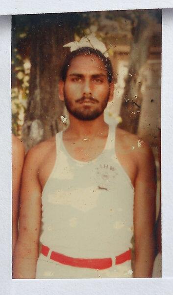 Photo of Rajinder Singh, victim of extrajudicial execution between October 20, 1992 and October 25,  1992, in Majitha, by Punjab Police