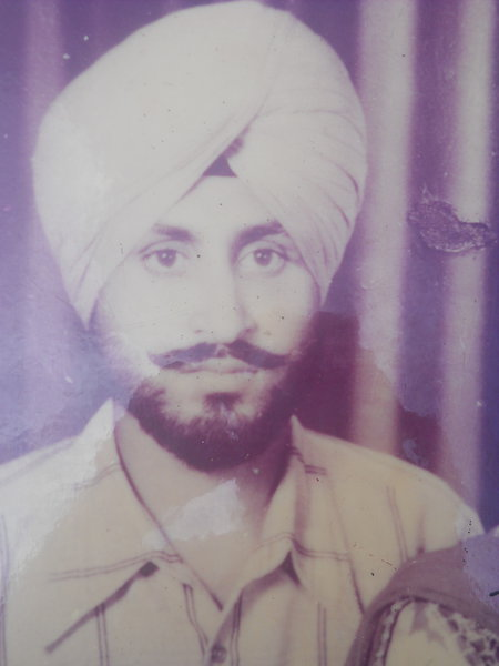 Photo of Baljit Singh,  disappeared between August 11, 1992 and August 12,  1992, in Kathu Nangal,  by Punjab Police