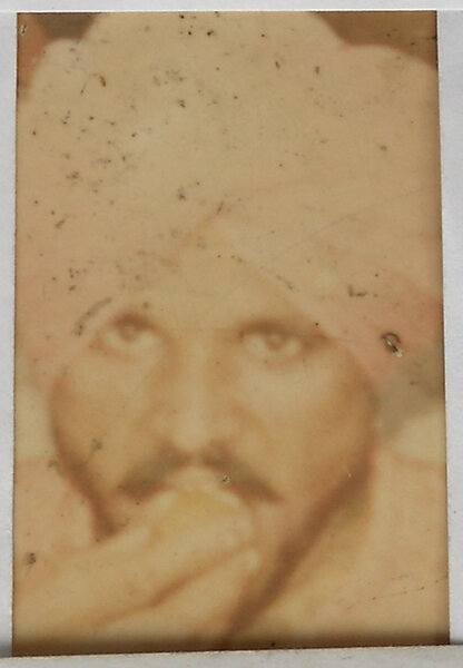 Photo of Balwinder Singh, victim of extrajudicial execution on March 29, 1993, in Kathu Nangal, by Punjab Police
