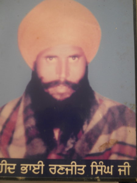 Photo of Ranjit Singh, victim of extrajudicial execution between August 15, 1987 and September 15,  1987, in Verowal, by Punjab Police