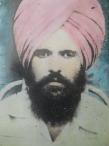 Photo of Pargat Singh, victim of extrajudicial execution between June 1, 1988 and April 15,  1989