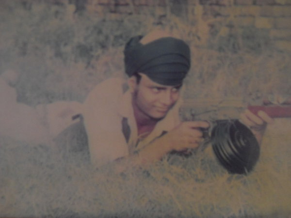 Photo of Palwinder Singh, victim of extrajudicial execution on December 19, 1991, in Amritsar, by Punjab Police