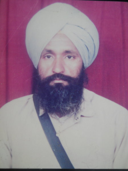 Photo of Sardul Singh, victim of extrajudicial execution on November 7, 1992, in Khalra, by Punjab Police