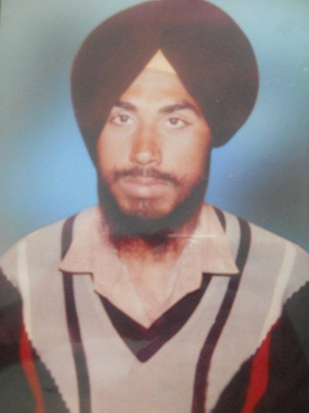 Photo of Lakhwinder Singh, victim of extrajudicial execution between November 13, 1990 and May 30,  1991Punjab Police