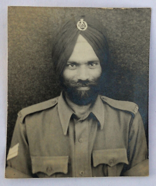 Photo of Gurcharn Singh, victim of extrajudicial execution on February 26, 1991, in Bihar, by Army