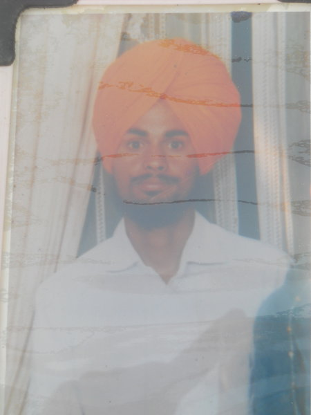 Photo of Mehar Singh, victim of extrajudicial execution on February 26, 1991, in Bihar, by Army