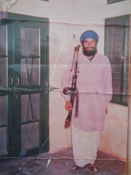 Photo of Piara Singh, victim of extrajudicial execution on May 05, 1992, in Ludhiana, by Punjab Police