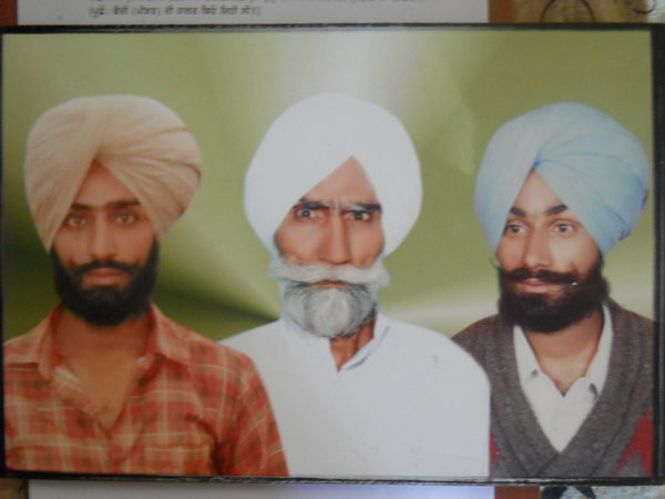 Photo of Majboot Singh, victim of extrajudicial execution on June 18, 1988Punjab Police