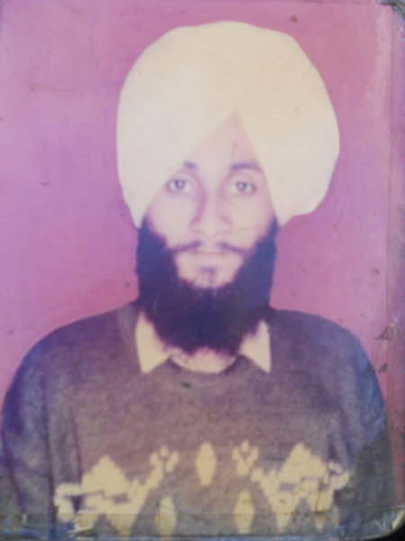 Photo of Kulwant Singh, victim of extrajudicial execution on June 18, 1988Punjab Police