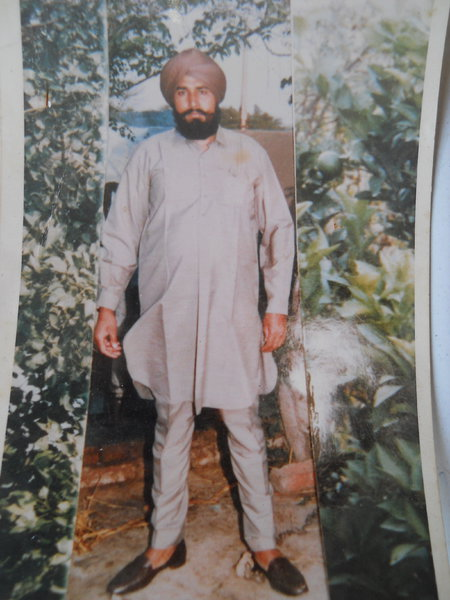Photo of Harbans Singh, victim of extrajudicial execution on October 02, 1991, in Valtoha, by Punjab Police; Central Reserve Police Force